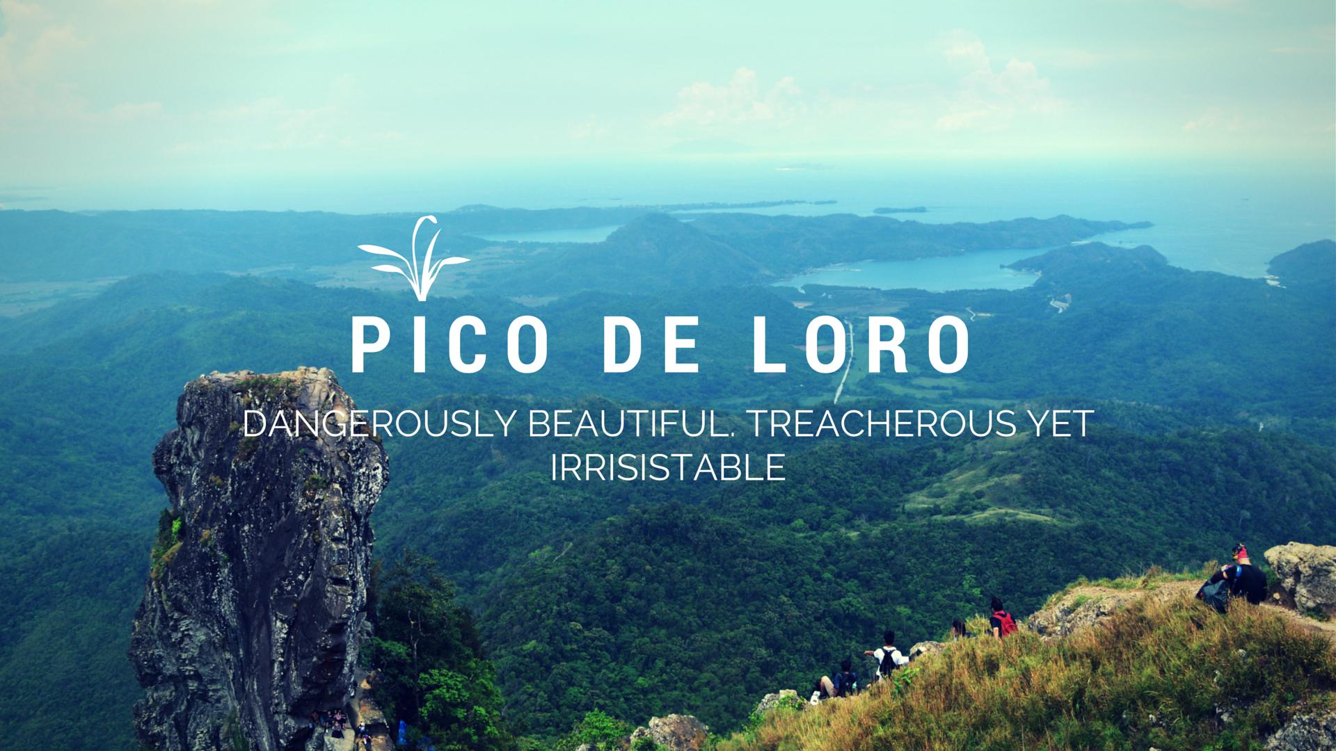 Pico De Loro Traverse & Monolith