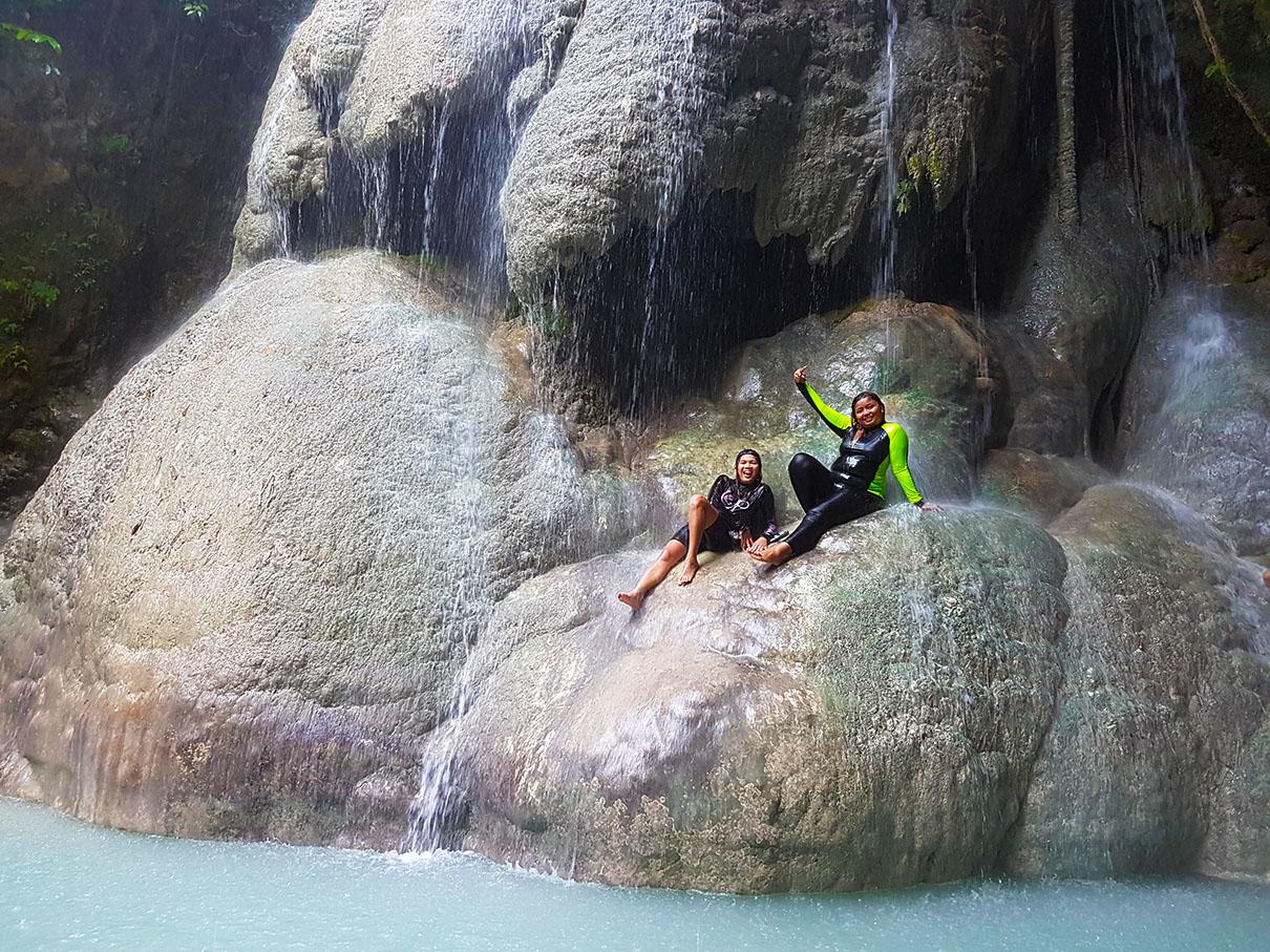 Aguinid Falls, Samboan South Cebu